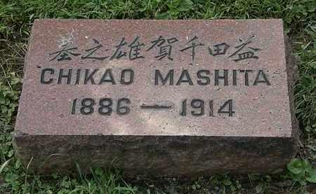 MASHTA, CHIKAO - Lorain County, Ohio | CHIKAO MASHTA - Ohio Gravestone Photos