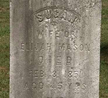 MASON, SUSAN - Lorain County, Ohio | SUSAN MASON - Ohio Gravestone Photos
