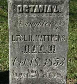 MATTHEWS, OCTAVIA L. - Lorain County, Ohio | OCTAVIA L. MATTHEWS - Ohio Gravestone Photos