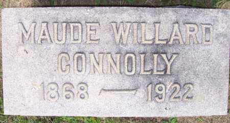 WILLARD MAUDE, CONNOLLY - Lorain County, Ohio | CONNOLLY WILLARD MAUDE - Ohio Gravestone Photos