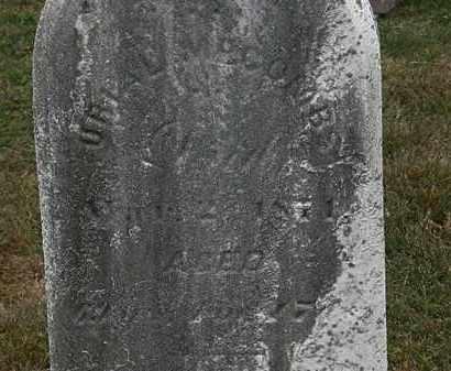 MCCOMBS, URIAH - Lorain County, Ohio | URIAH MCCOMBS - Ohio Gravestone Photos