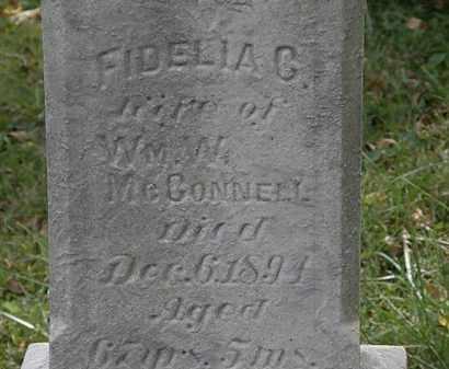MCCONNELL, FIDELIA C. - Lorain County, Ohio | FIDELIA C. MCCONNELL - Ohio Gravestone Photos