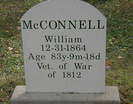 MCCONNELL, WILLIAM - Lorain County, Ohio | WILLIAM MCCONNELL - Ohio Gravestone Photos