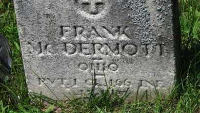 MCDERMOTT, FRANK - Lorain County, Ohio | FRANK MCDERMOTT - Ohio Gravestone Photos