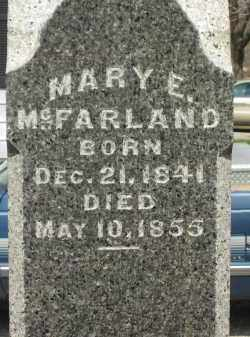 MCFARLAND, MARY E. - Lorain County, Ohio | MARY E. MCFARLAND - Ohio Gravestone Photos