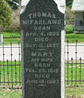 MCFARLAND, MARY - Lorain County, Ohio | MARY MCFARLAND - Ohio Gravestone Photos