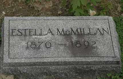 MCMILLAN, ESTELLA - Lorain County, Ohio | ESTELLA MCMILLAN - Ohio Gravestone Photos