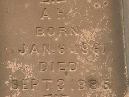 MCQUEEN, A.H. - Lorain County, Ohio | A.H. MCQUEEN - Ohio Gravestone Photos