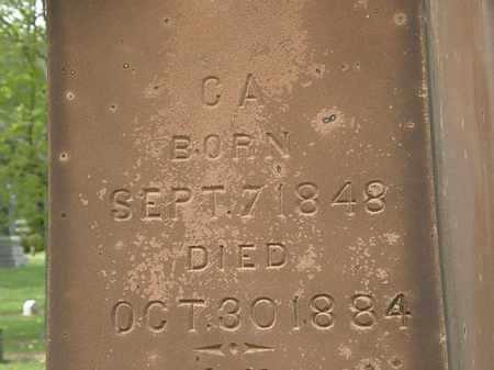 MCQUEEN, C.A. - Lorain County, Ohio | C.A. MCQUEEN - Ohio Gravestone Photos