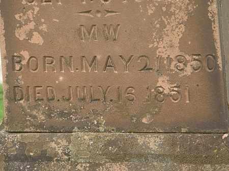 MCQUEEN, M.W. - Lorain County, Ohio | M.W. MCQUEEN - Ohio Gravestone Photos