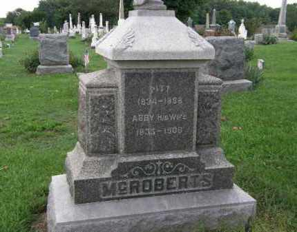 MCROBERTS, ABBY - Lorain County, Ohio | ABBY MCROBERTS - Ohio Gravestone Photos