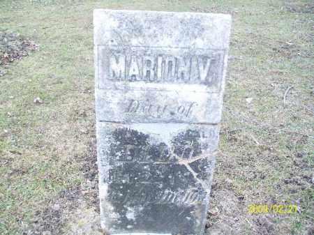 MEEKER, MARION V - Lorain County, Ohio | MARION V MEEKER - Ohio Gravestone Photos