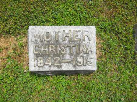 MEISTER, CHRISTINA - Lorain County, Ohio | CHRISTINA MEISTER - Ohio Gravestone Photos