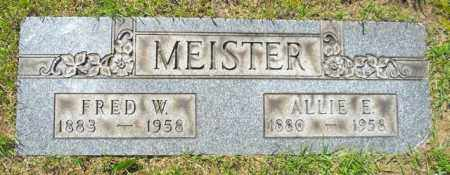 MEISTER, FRED W. - Lorain County, Ohio | FRED W. MEISTER - Ohio Gravestone Photos