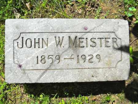 W. MEISTER, JOHN - Lorain County, Ohio | JOHN W. MEISTER - Ohio Gravestone Photos