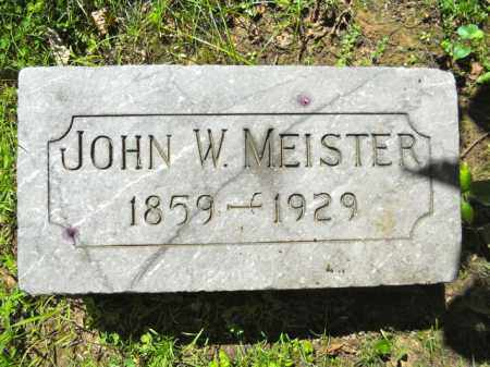 MEISTER, JOHN - Lorain County, Ohio | JOHN MEISTER - Ohio Gravestone Photos