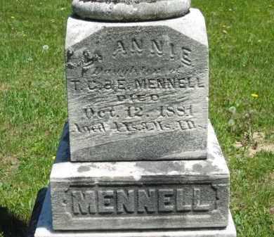 MENNELL, E. - Lorain County, Ohio | E. MENNELL - Ohio Gravestone Photos