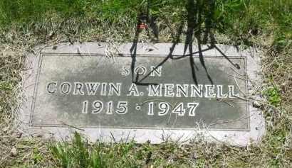 MENNELL, CORWIN A. - Lorain County, Ohio | CORWIN A. MENNELL - Ohio Gravestone Photos