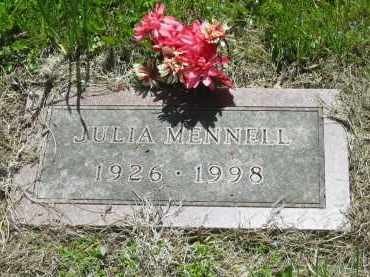 MENNELL, JULIA - Lorain County, Ohio | JULIA MENNELL - Ohio Gravestone Photos