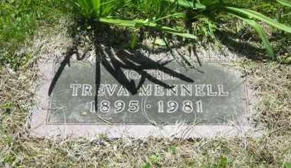 MENNELL, TREVA - Lorain County, Ohio | TREVA MENNELL - Ohio Gravestone Photos