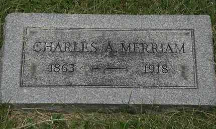 MERRIAM, CHARLES A. - Lorain County, Ohio | CHARLES A. MERRIAM - Ohio Gravestone Photos