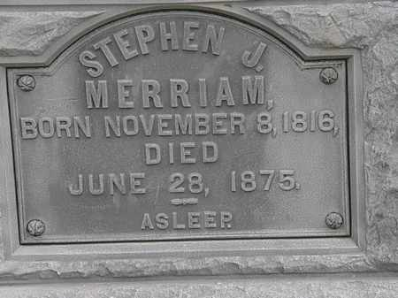 MERRIEM, STEPHEN J. - Lorain County, Ohio | STEPHEN J. MERRIEM - Ohio Gravestone Photos