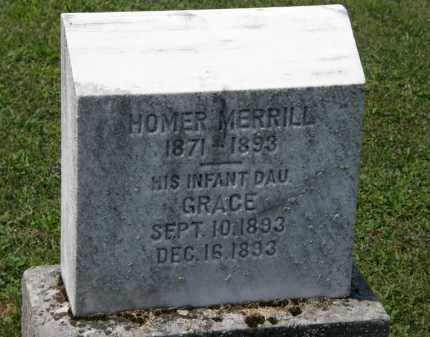 MERRILL, GRACE - Lorain County, Ohio | GRACE MERRILL - Ohio Gravestone Photos