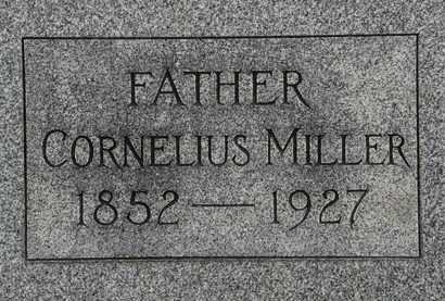 MILLER, CORNELIUS - Lorain County, Ohio | CORNELIUS MILLER - Ohio Gravestone Photos