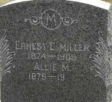 MILLER, ALLIE M. - Lorain County, Ohio | ALLIE M. MILLER - Ohio Gravestone Photos