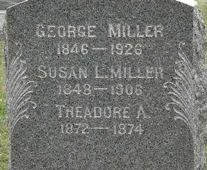 MILLER, THEADORE A. - Lorain County, Ohio | THEADORE A. MILLER - Ohio Gravestone Photos