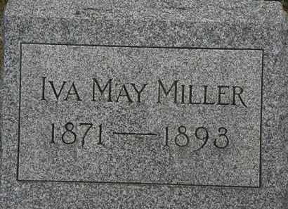 MILLER, IVA MAY - Lorain County, Ohio | IVA MAY MILLER - Ohio Gravestone Photos