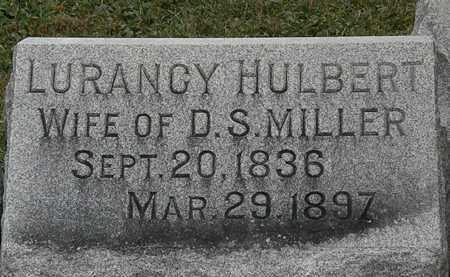 HULBERT MILLER, LURANCY - Lorain County, Ohio | LURANCY HULBERT MILLER - Ohio Gravestone Photos