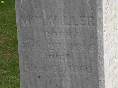 MILLER, WM. - Lorain County, Ohio | WM. MILLER - Ohio Gravestone Photos