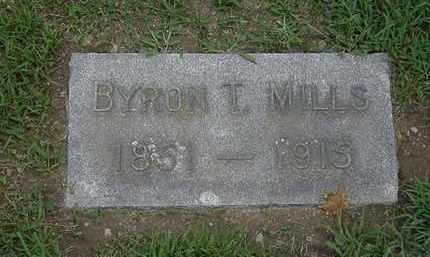 MILLS, BYRON T. - Lorain County, Ohio | BYRON T. MILLS - Ohio Gravestone Photos
