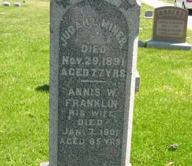 FRANKLIN MINER, ANNIS W. - Lorain County, Ohio | ANNIS W. FRANKLIN MINER - Ohio Gravestone Photos