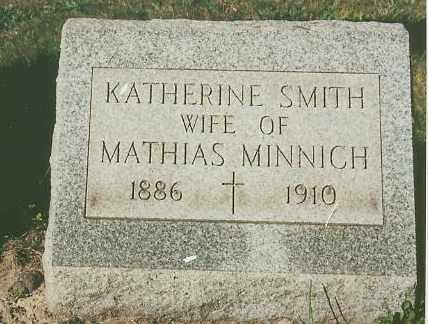 MINNICH, KATHERINE - Lorain County, Ohio | KATHERINE MINNICH - Ohio Gravestone Photos