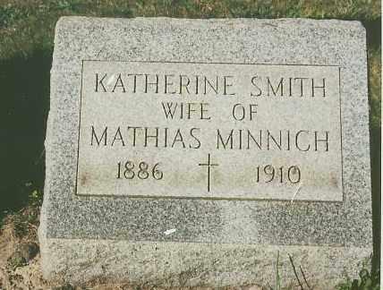 SMITH MINNICH, KATHERINE - Lorain County, Ohio | KATHERINE SMITH MINNICH - Ohio Gravestone Photos