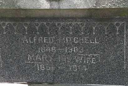 MITCHELL, MARY - Lorain County, Ohio | MARY MITCHELL - Ohio Gravestone Photos