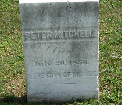 MITCHELL, PETER - Lorain County, Ohio | PETER MITCHELL - Ohio Gravestone Photos