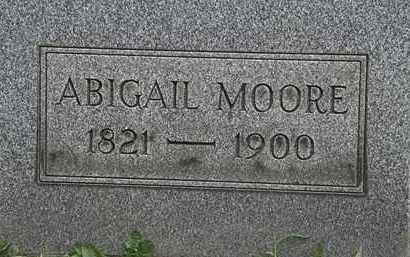 MOORE, ABIGAIL - Lorain County, Ohio | ABIGAIL MOORE - Ohio Gravestone Photos