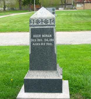 MORAN, HUGH - Lorain County, Ohio | HUGH MORAN - Ohio Gravestone Photos