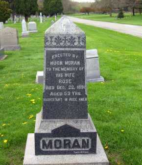 MORAN, ROSE - Lorain County, Ohio | ROSE MORAN - Ohio Gravestone Photos