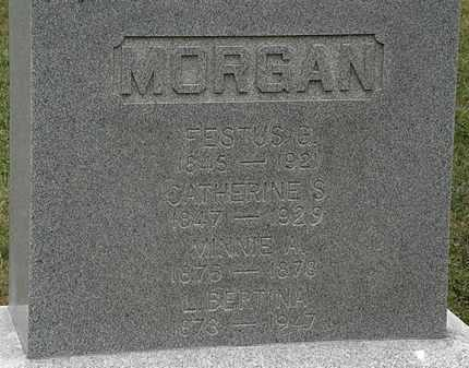 MORGAN, L. BERTINA - Lorain County, Ohio | L. BERTINA MORGAN - Ohio Gravestone Photos