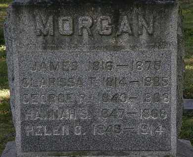 MORGAN, HANNAH S. - Lorain County, Ohio | HANNAH S. MORGAN - Ohio Gravestone Photos
