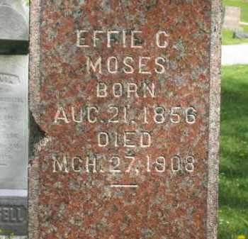 MOSSES, EFFIE C. - Lorain County, Ohio | EFFIE C. MOSSES - Ohio Gravestone Photos