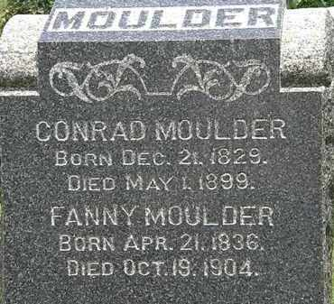MOULDER, CONRAD - Lorain County, Ohio | CONRAD MOULDER - Ohio Gravestone Photos