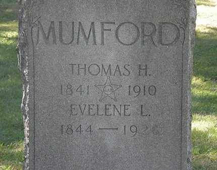 MUMFORD, EVELENE L. - Lorain County, Ohio | EVELENE L. MUMFORD - Ohio Gravestone Photos