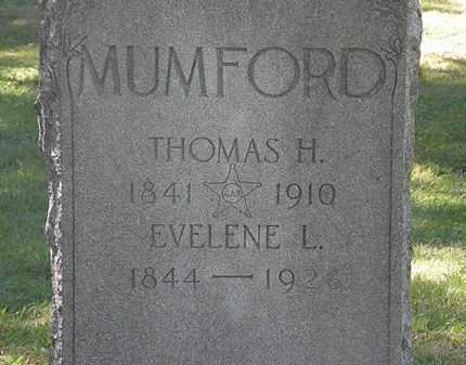 MUMFORD, THOMAS H. - Lorain County, Ohio | THOMAS H. MUMFORD - Ohio Gravestone Photos
