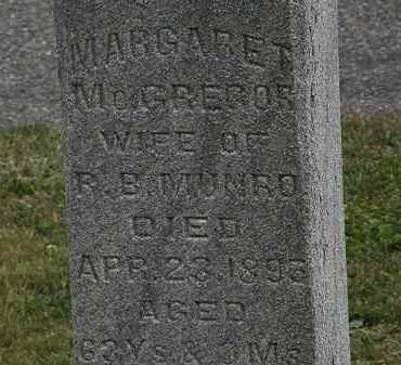 MCGREGOR MUNRO, MARGARET - Lorain County, Ohio | MARGARET MCGREGOR MUNRO - Ohio Gravestone Photos