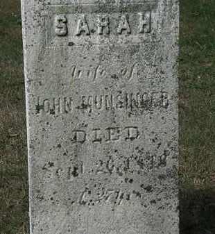 MUNSINGER, SARAH - Lorain County, Ohio | SARAH MUNSINGER - Ohio Gravestone Photos